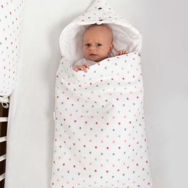 Pure - śpiworek z kapturem do łóżeczka: gondoli wózka