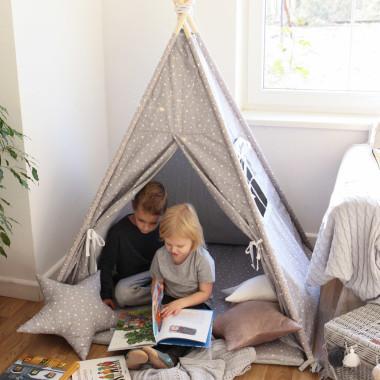 Słoniki/gwiazdki - tipi, namiot dla dzieci