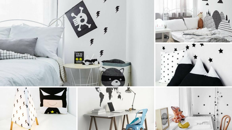Pokój dziecięcy – Black & White