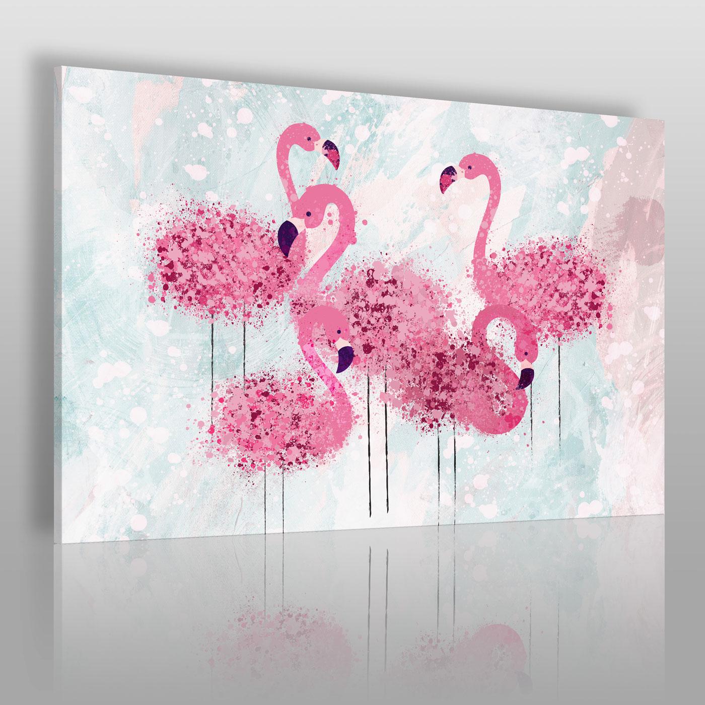 Think pink - nowoczesny obraz na płótnie