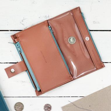 Sprytny wielofunkcyjny portfel- przybornik, który pomieści wszystkie twoje najpotrzebniejsze rzeczy. Unisex.