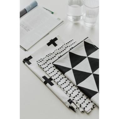 Zestaw 3 ściereczek kuchennych geometric