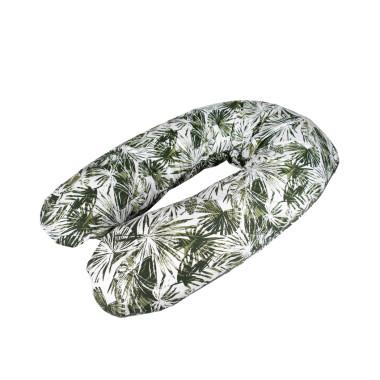 Bawełniana, miękka, wygodna poduszka dla kobiet w ciąży, do trzymania dziecka i karmienia, w palmy