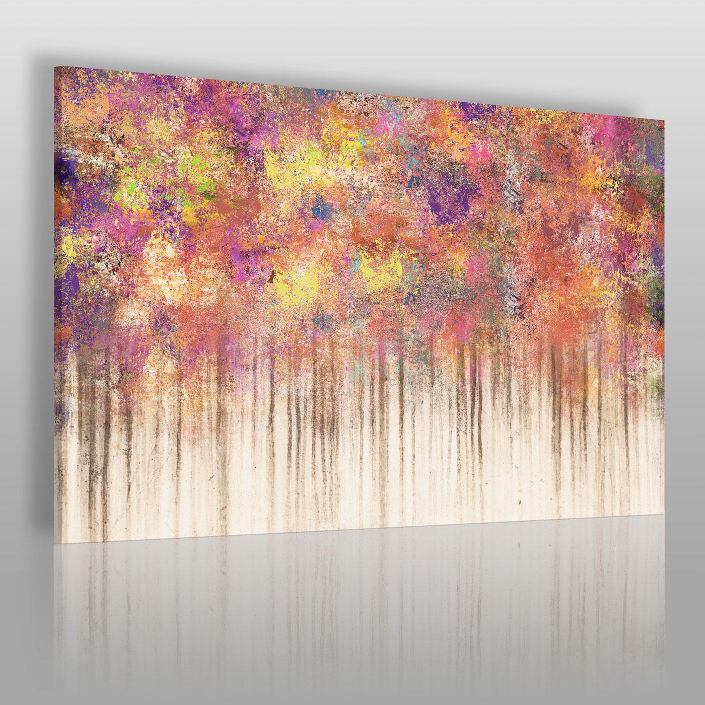 Kolorowy obraz na płótnie-abstrakcja