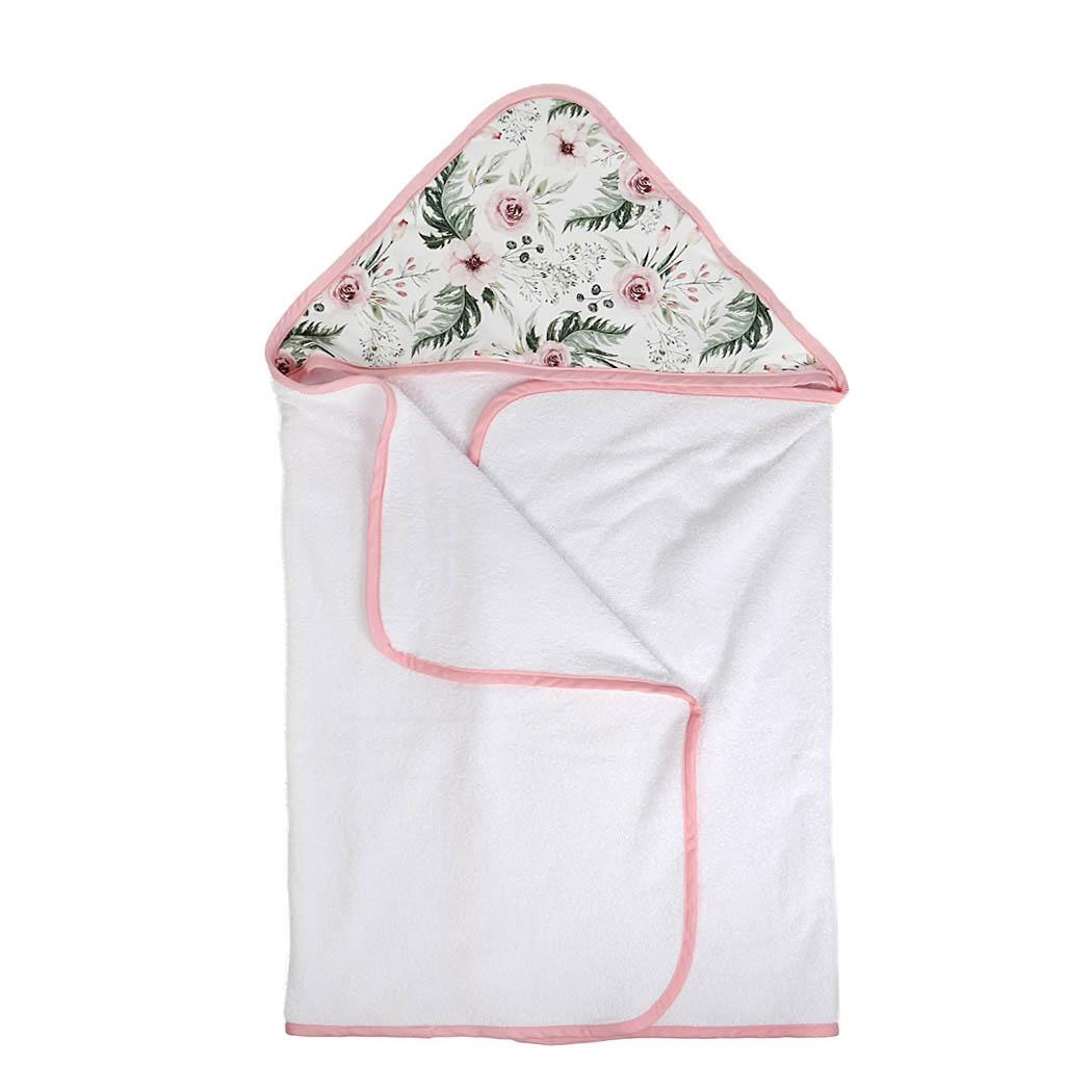 6de593bb3 Peonia – duży ręcznik kąpielowy z kapturem 140×70 idealny na basen ...