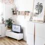 Biała komoda / szafka w stylu skandynawskim idealna do salonu, przedpokoju, sypialni, pokoju dziecięcego