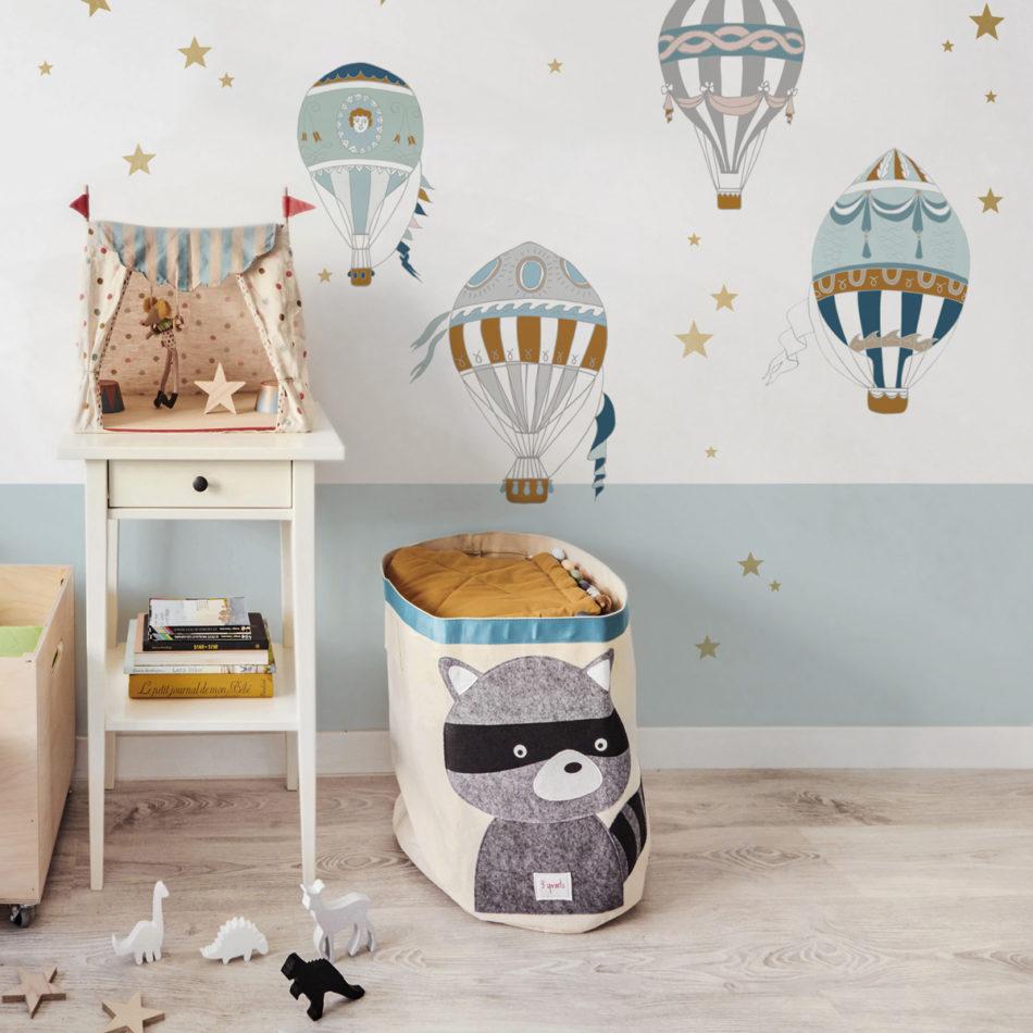 Naklejki na ścianę do pokoju dziecka-balony