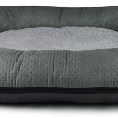 Szare legowisko/ kokon/łóżko dla dużego psa- miękkie