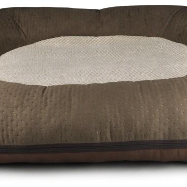 Brązowe legowisko/ kokon/łóżko dla dużego psa- miękkie