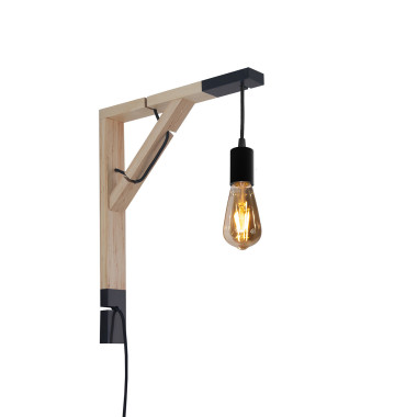 youngDECO lampa LOFT + SIMPLE czarna sopel