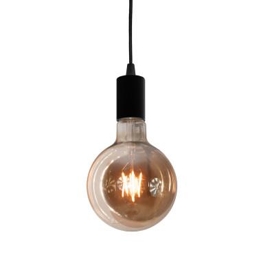 youngDECO lampa LOFT kula czarna