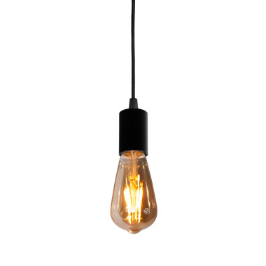 youngDECO lampa LOFT sopel czarna