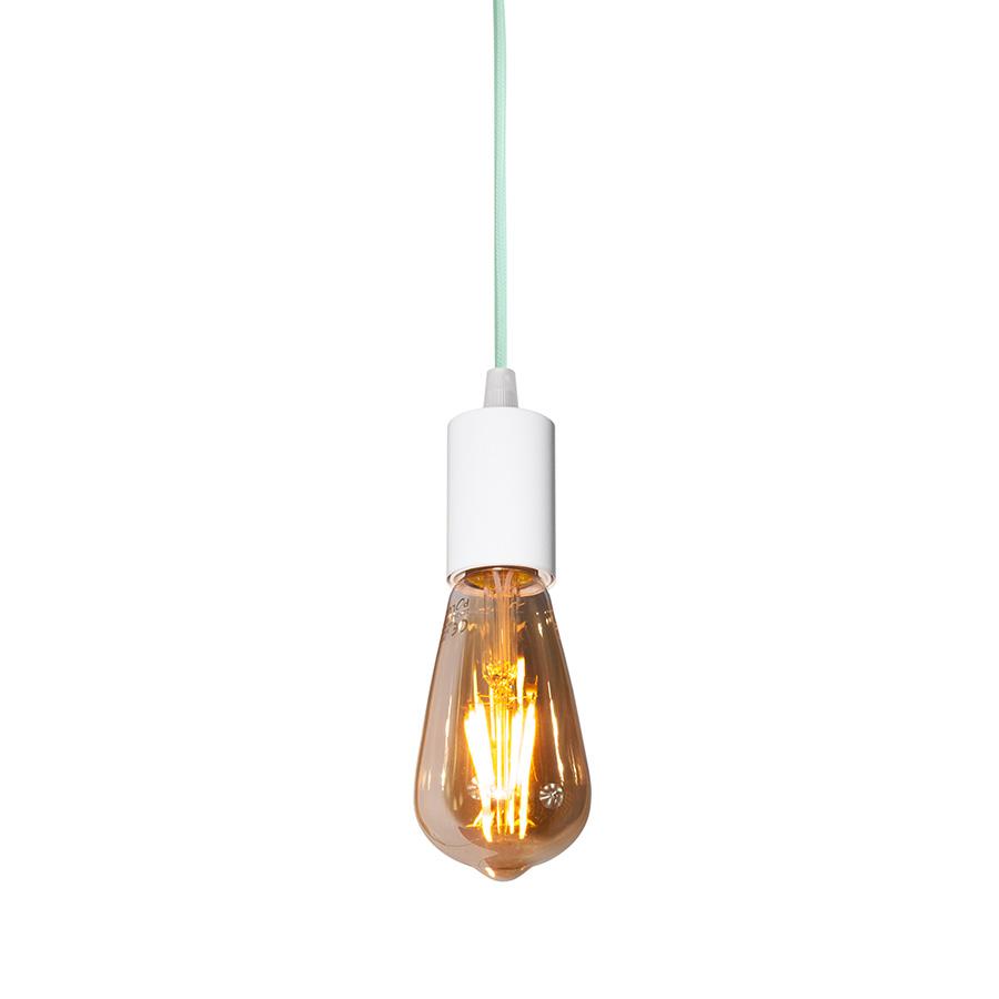 youngDECO lampa LOFT sopel miętowa