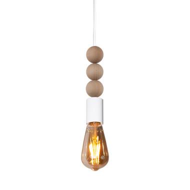 youngDECO lampa LOFT sopel z kulkami biała