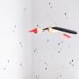 Naklejki na ścianę do pokoju dziecka-kolorowe krople/ deszczyk
