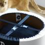 Oti-nowoczesne łóżko dla kota-designerskie i eleganckie-czarne