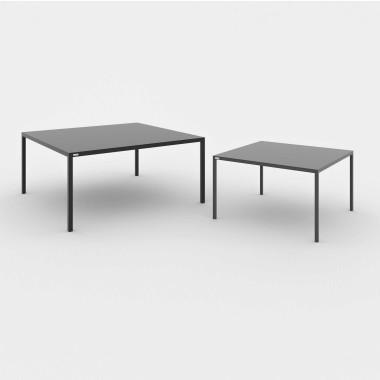 MASAKI zestaw dwóch minimalistycznych stolików kawowych