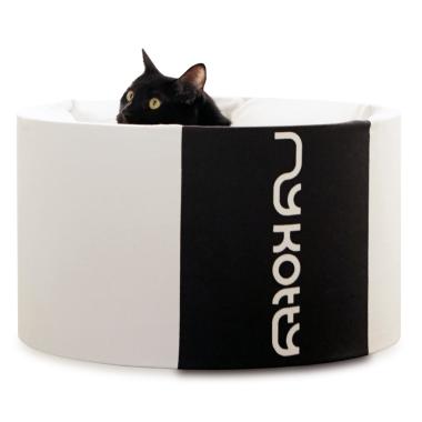 Oti-nowoczesne łóżko dla kota-designerskie i eleganckie-białe