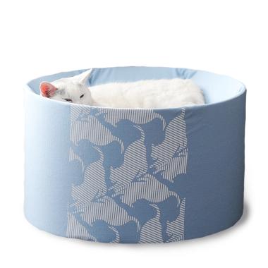 Oti-nowoczesne łóżko dla kota-designerskie i eleganckie-niebieskie