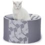 Oti-nowoczesne łóżko dla kota-designerskie i eleganckie-szare