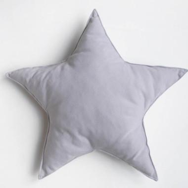 Miękka poduszka gwiazdka dekoracyjna do pokoju dziecka – róż