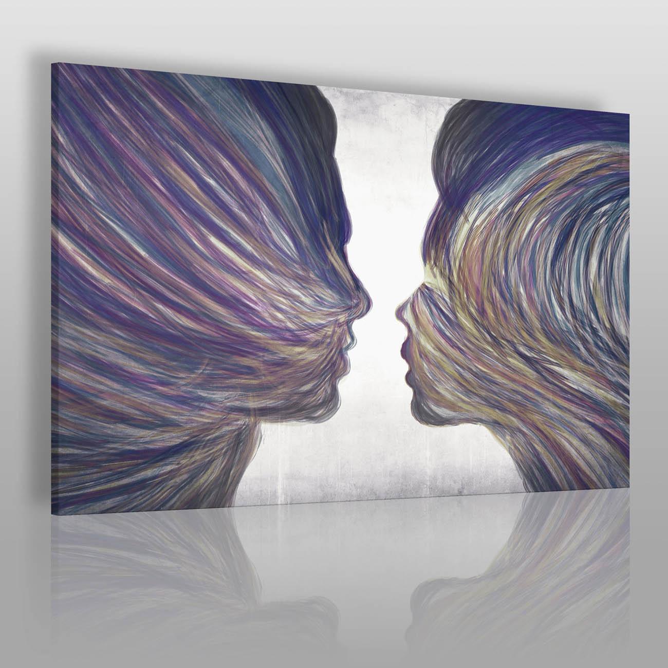 Umiłowanie - nowoczesny obraz na płótnie