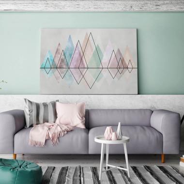 Diamentowy szlak - nowoczesny obraz na płótnie
