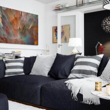 Meteoria  - nowoczesny obraz do salonu