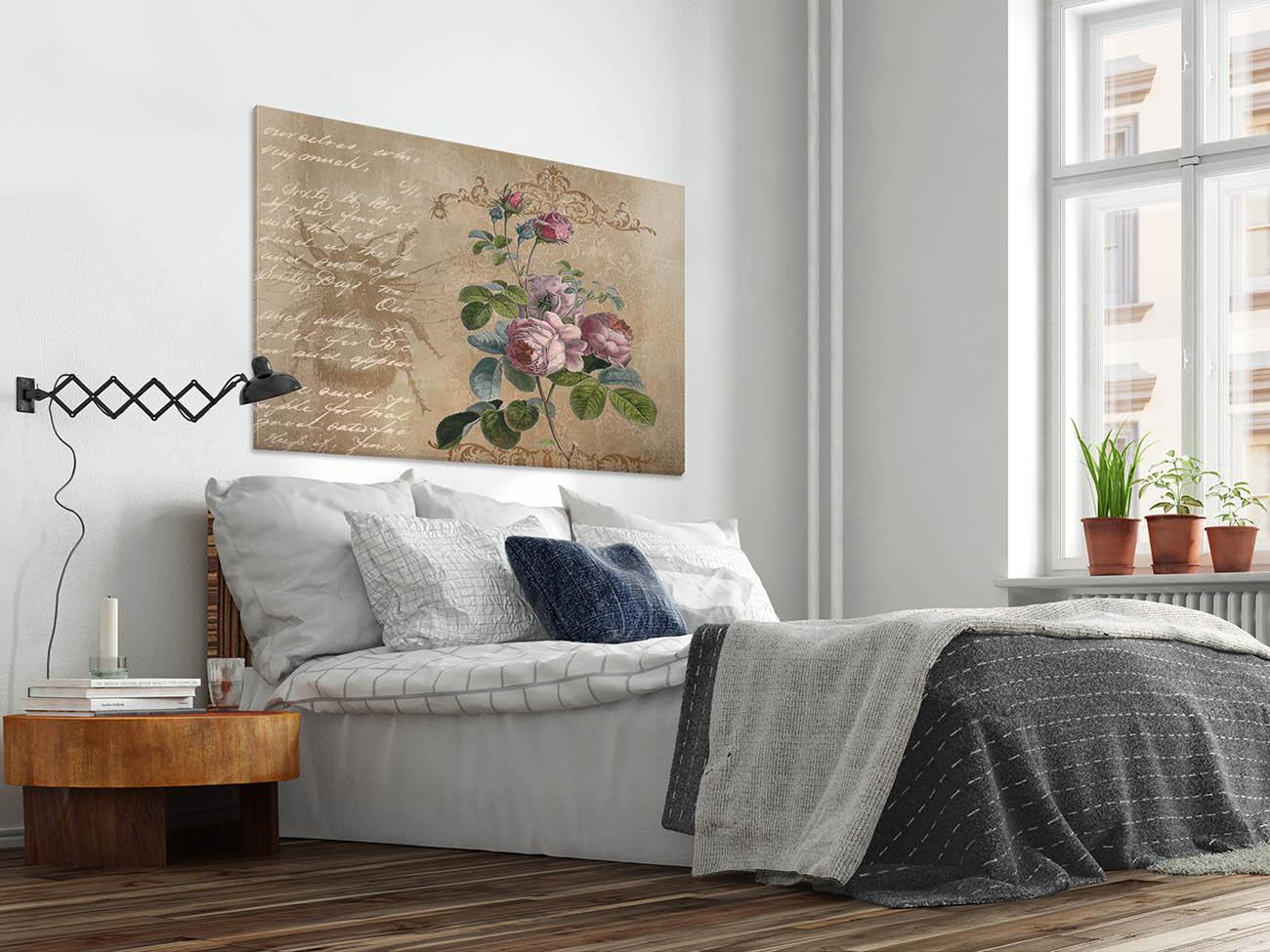 Epistemologia miłości - nowoczesny obraz do sypialni