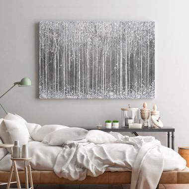 Styczeń w Petersburgu - nowoczesny obraz do sypialni