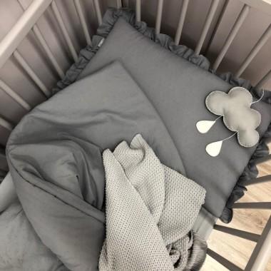 Komplet pościeli dla dziecka z wypełnieniem-kołderka i poduszka