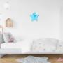 Gwiazdka do pokoju dziecka w stylu skandynawskim-zegar do pokoju dziecka