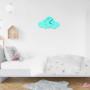 Chmurka do pokoju dziecka w stylu skandynawskim-zegar do pokoju dziecka