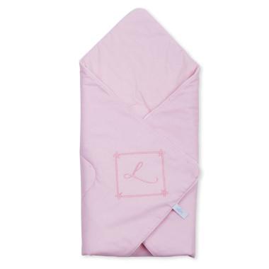 Piękny różowy becik/rożek dla noworodka-wyprawka dla dziewczynki