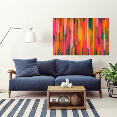 Katarakta - nowoczesny obraz do salonu