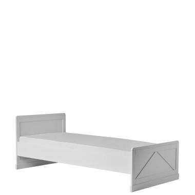 Białe łóżeczko dla dziecka/ tapczanik