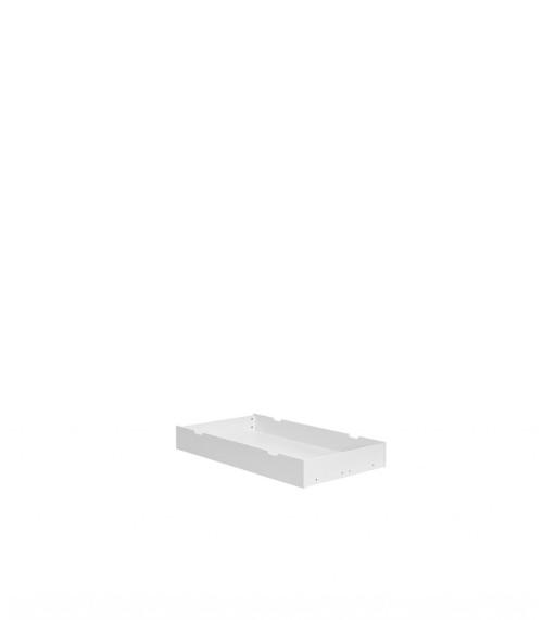 Biała szuflada pod łóżeczko dziecięce