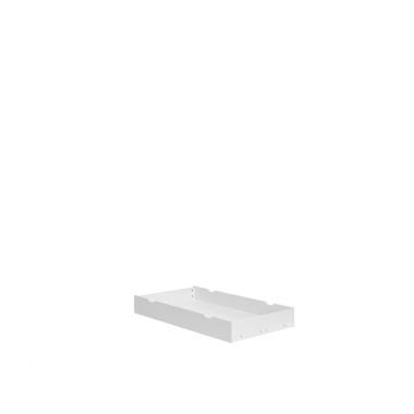 Szuflada do łóżeczka- uniwersalna na kółkach, wykonana z MDF