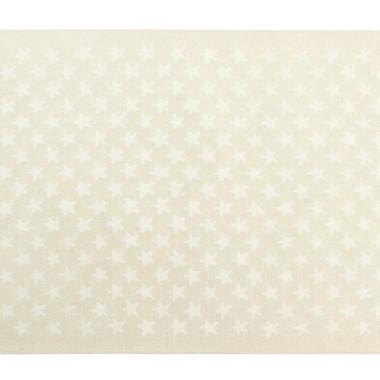 Wełniany dywan w gwiazdki do pokoju dziecka-bężowy