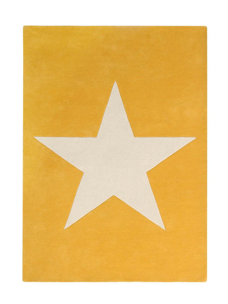 Dywan Wełniany Big Star Mustard