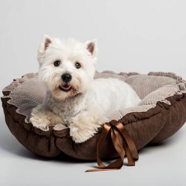 Wygodne, designerskie miękkie legowisko dla psa/ kota -szare, brązowe, graitowe, czarne, różowe, zielone, niebieskie.