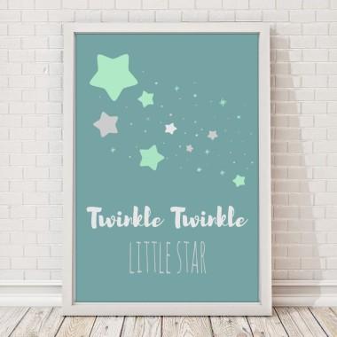 Twinkle twinkle little star placate dal dziecka
