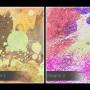 Wolta - nowoczesny obraz na płótnie - w kwadracie