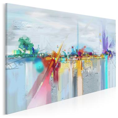 Hydrosfera - nowoczesny obraz do salonu
