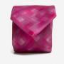 krawat fuchsia-pixel