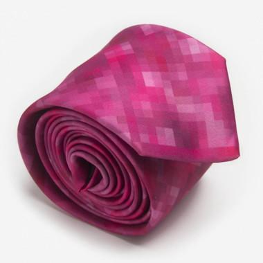 krawat-fuchsia-pixel