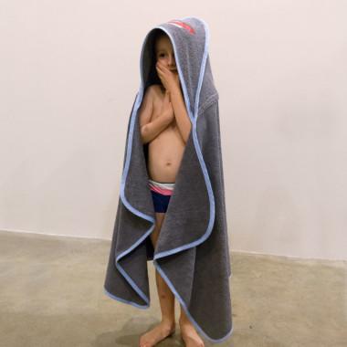 Kosmos – duży ręcznik kąpielowy z kapturem 140×70 idealny na basen!