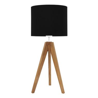 Lampa na stolik Czarny