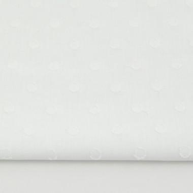 youngDECO zasłona Groszki białe plumeti