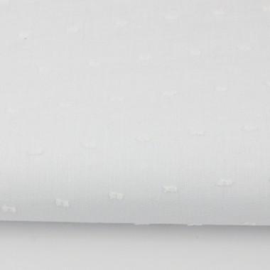 youngDECO zasłona Kreseczki białe plumeti